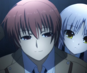 angel beats, kanade, and otonashi image