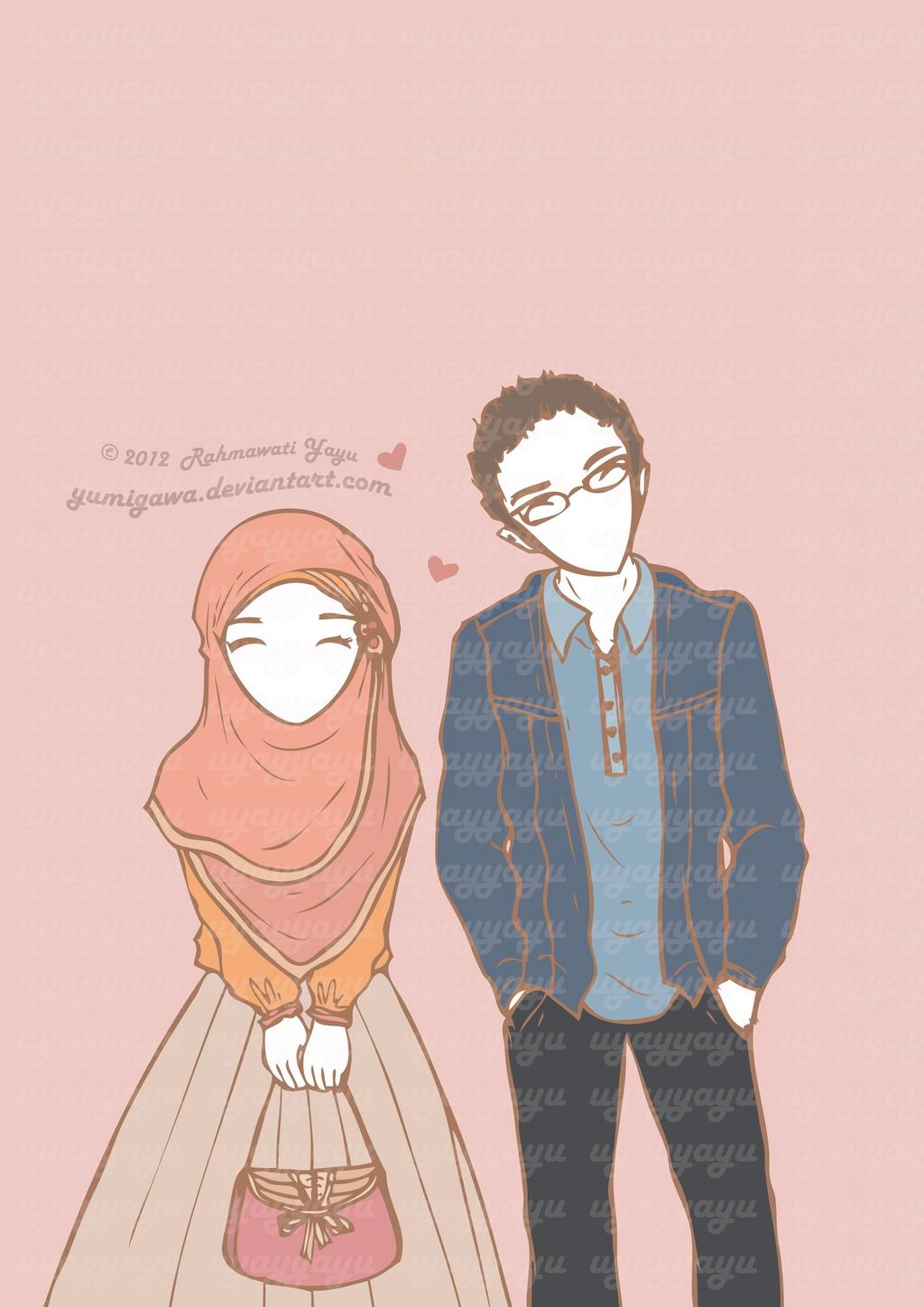 Tumblr Couple Hijab