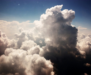 beautiful, beauty, and clouds image