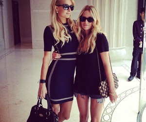 girl, paris hilton, and fashion image