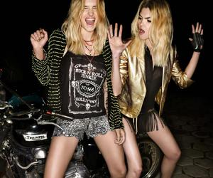 girl and rock image