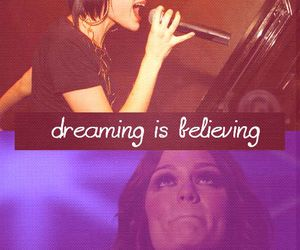 jessie j and dreaming is believing image