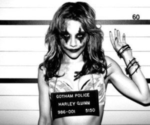 brittany murphy, black and white, and police image