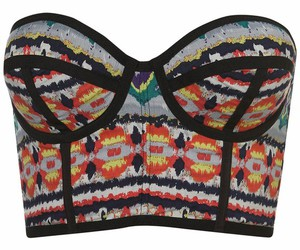 fashion, aztec, and bra image