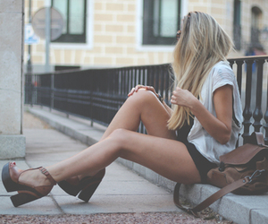 blonde, girl, and skinny image