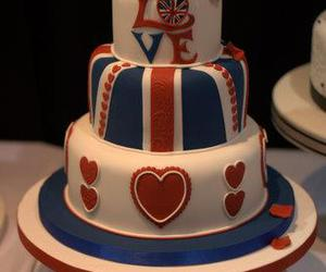 britain, cake, and heart image