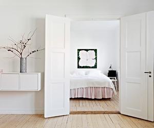 bedroom, interiors, and sweden image
