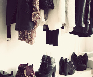 dresser, heaven, and shoes image
