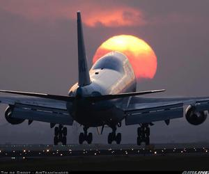 beautiful, photography, and plane image