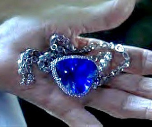 blue, titanic, and heart image