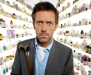 gregory house, house m.d., and hugh laurie image