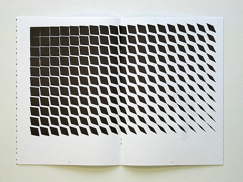 graphic design, ink. print, and op art image
