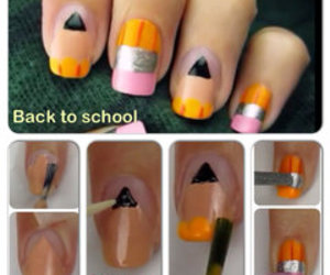 back, eraser, and nail image