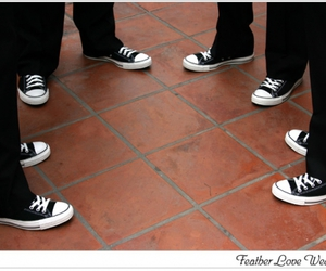 chuck taylors, chucks, and convers image