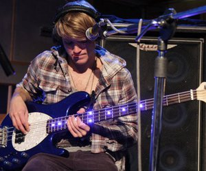 dougie poynter, McFly, and bass image