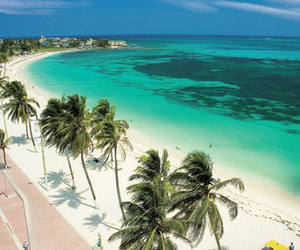 beach and colombia image
