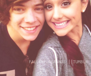 ariana grande, Harry Styles, and styles image