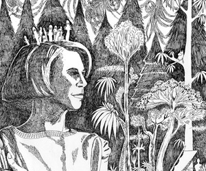 tove jansson, art, and drawing image