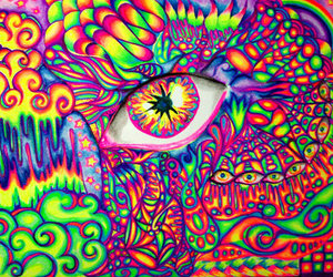 eye and colorful image