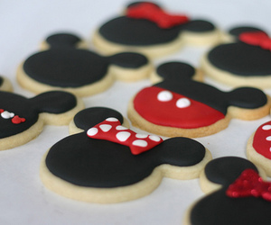 Cookies, food, and disney image