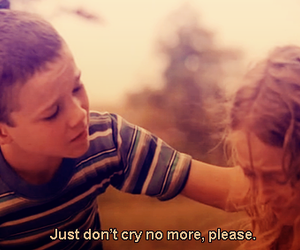 cry, boy, and quote image