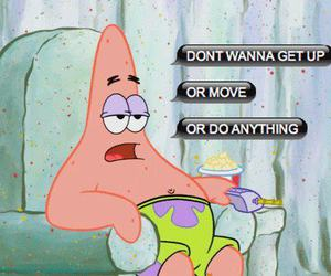 patrick, Lazy, and spongebob image