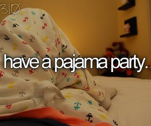 before i die, pajama, and party image