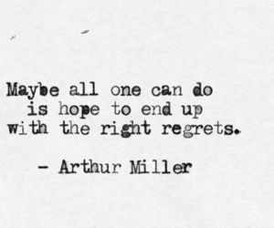 quotes, hope, and regrets image
