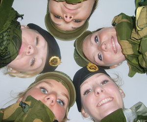 army, norway, and friends image