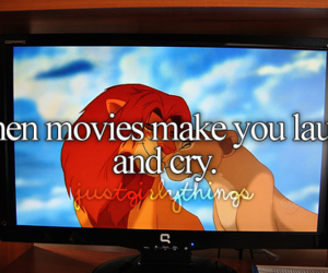 cry, laugh, and movies image