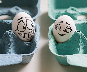 love, eggs, and egg image