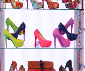 heels, shoes, and bag image