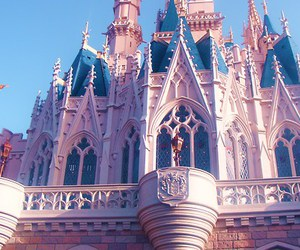 castle, cinderella, and magic image