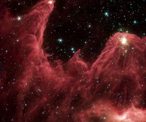mist, stars, and red image