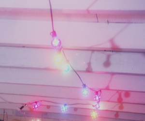pink and light image