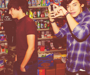 Harry Styles and louis tomlinson image