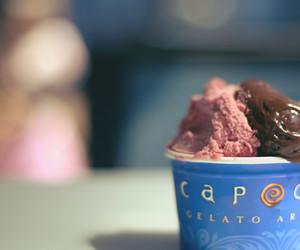 gelato, ice cream, and capogiro image