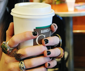 coffee and rings image