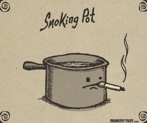 smoking and pot image
