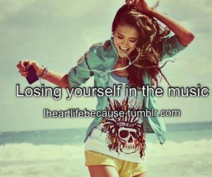 music, quote, and lose yourself image