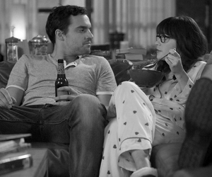 new girl, zooey deschanel, and series image