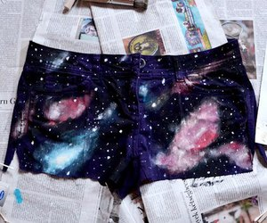 short and galaxy image
