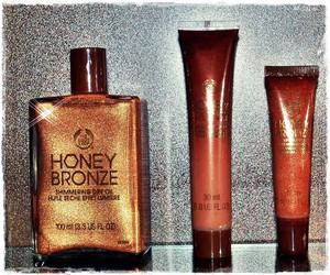 bronze, the body shop, and honey bronze image