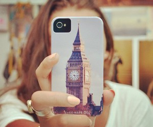 iphone, london, and england image