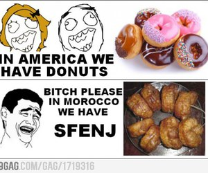america, delicious, and donut image