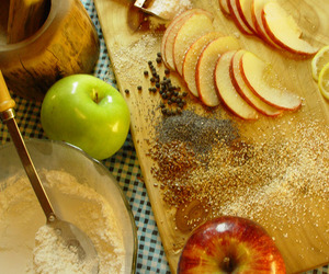 sugar, apple, and autumn image