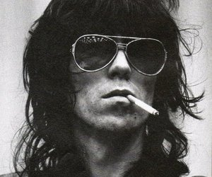 Keith Richards and the rolling stones image