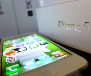 iphone, iphone 5, and apple image