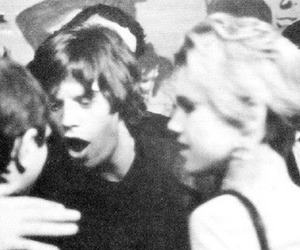mick jagger and edie sedgwick image