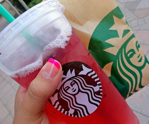 starbucks, drink, and photography image